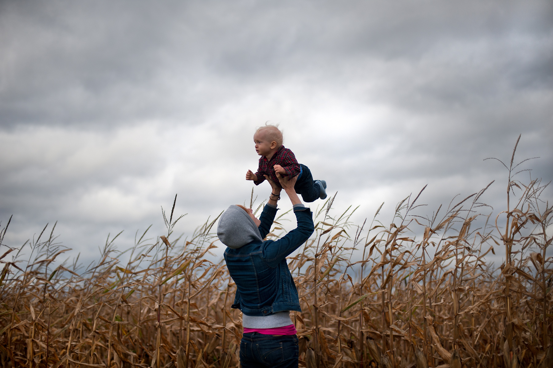 JoshuaBright_Baby_Mother_CornField_Creation