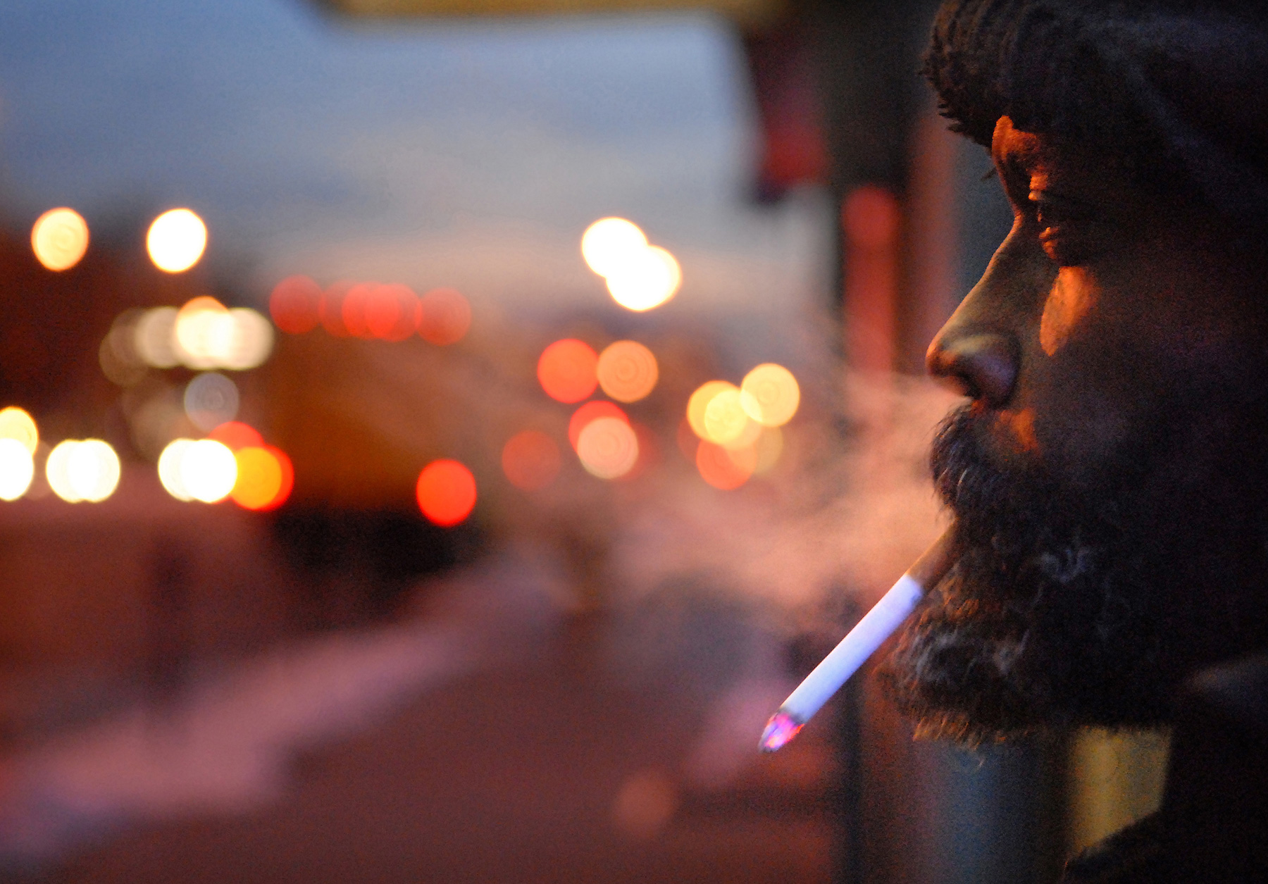 JoshuaBright_RiverdalePress_Kenny_Homeless_Broadway_smoking